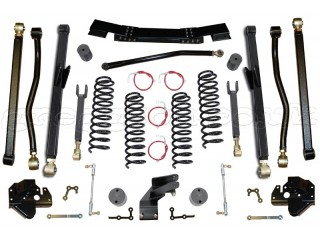 "Jeep Wrangler JK (4D) LHD (2012-2018) 3,5"" Lift Kit Suspension Long Arm Clayton Off Road"