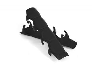 Universal Shock & Steering Stabilizer Armor Black Daystar