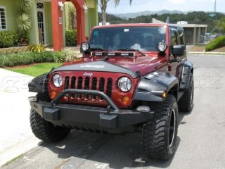 Jeep Wrangler JK 4D Front Fenders Flares Pocket Style Bushwacker