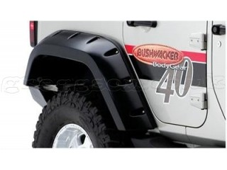 Jeep Wrangler JK 4D Rear Fenders Flares Pocket Style Bushwacker