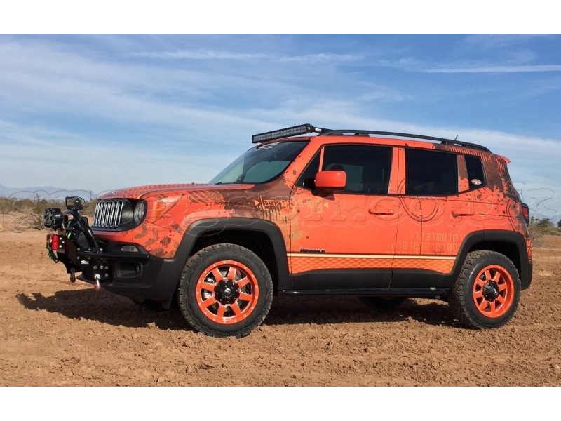 Jeep Renegade Trailhawk For Sale >> Jeep Renegade Front Guards Winch Bumper Daystar
