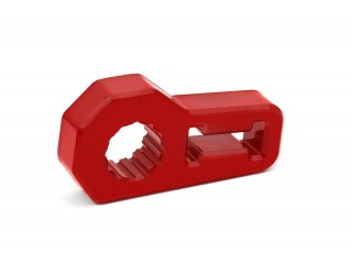 Hi Lift Jack Handle Isolator Red Daystar