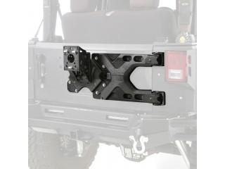 Jeep Wrangler JK Pivot Heavy Duty Oversize Tire Carrier SRC Smittybilt