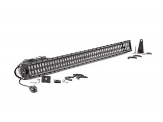 127cm LED Light Bar Double Row Black Panel Rough Country