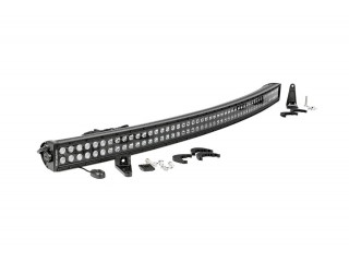 54 inch Curved Cree LED Light Bar Dual Row Black Series Rough Country