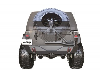 Jeep Wrangler JK Tire Mount Slant Go Industries