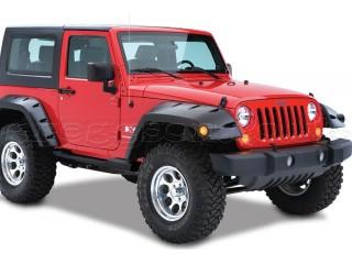 Jeep Wrangler JK 2D Rear Fenders Flares Pocket Style Bushwacker