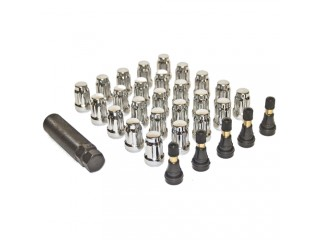 Anti Theft Lug Nuts Kit 25 pcs Chrome Pro Comp