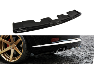 Jeep Grand Cherokee WK2 Summit Facelift (2014 -) Central Rear Bumper Diffuser Valance Extension (WITHOUT VERTICAL BARS)