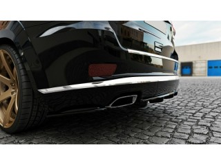 Jeep Grand Cherokee WK2 Summit Facelift (2014 -) Rear Side Splitters