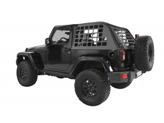 Jeep Wrangler JK (2D) Cargo Net Window