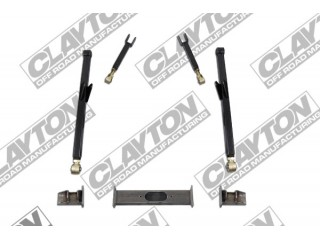"Jeep Grand Cherokee ZJ 4""- 8'' Lift Clayton Off Road Long Arm Upgrade Lift Kit Front Half"