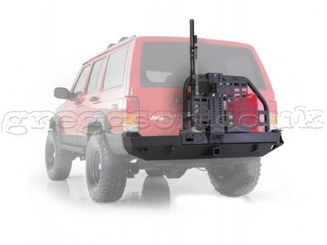 Jeep Cherokee XJ Rear Bumper XRC Swing Away Tire Carrier Hi - Lift Smittybilt