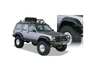 Jeep Cherokee XJ Fenders Flares Cut-Out Style Bushwacker