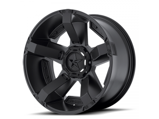 "17"" x 8 ET+10 5x127 Matte Black Alloy Wheel Model 811 Rockstar II KMC XD Series"