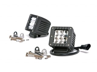 Square Cree LED Lights Rough Country (Pair)