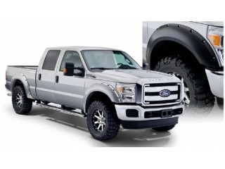 Ford F250 (2011-2016) & Ford F350 (2011-2016) Rear Fender Flares Bushwacker