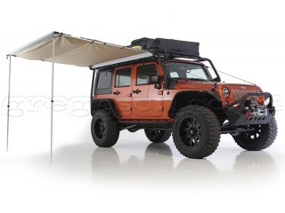 Big  Rooftop Camping Tent Awning Retractable Awning Smittybilt