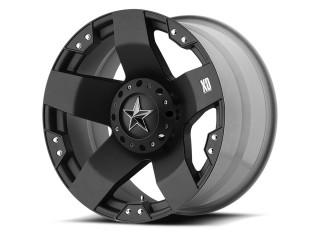 "20"" x8 5x114.3 / 5x120 ET10 Alloy Wheel Black Matte XD 775 Rockstar"