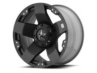 "17"" x8  5x114.3/5x120 ET10 Alloy Wheel Black Matte XD 775 Rockstar"