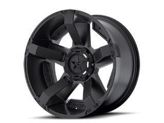 "20"" x9 5x150 ET30 Alloy Wheel XD 811 RS2 Rockstar II Matte Black"