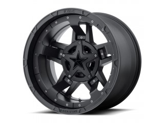 "17"" x9 6x135/6x139.7 ET -12 Alloy Wheel Matte Black XD 827 RS3"