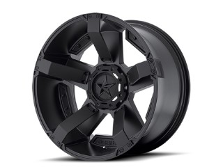 "17"" x8 6x135/6x139.7 ET10 Alloy Wheel XD 811 RS2 Rockstar II Matte Black"