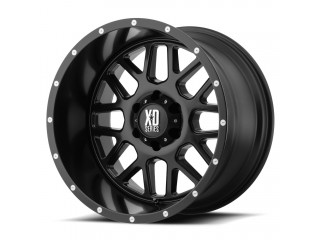 "18"" x8 5x120 ET38 Alloy Wheel ATX Black XD 820 Grenade"