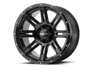 "20"" x 9 ET18 6x139,70 Black Alloy Wheel HELO Model 900 Gloss Black"