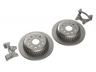 Jeep Wrangler JK Rear Performance Slotted Big Rotor Kit Teraflex
