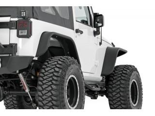 Jeep Wrangler JK Tubular Fender Flares Set Rough Country