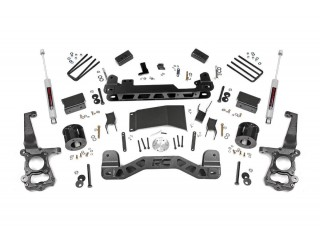 "Ford F150 4WD (2015-2018) 4"" Lift Kit Suspension Rough Country"
