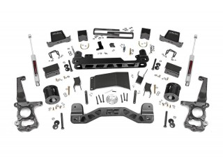 "Ford F150 4WD (2015-2018) 5"" Lift Kit Suspension Rough Country"