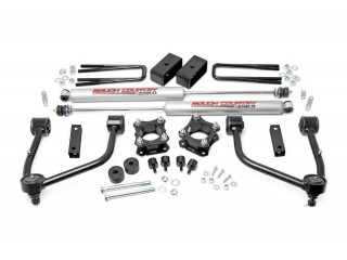 "Toyota Tundra 4WD (2007-2018) 3.5"" Lift Kit Suspension Rough Country"