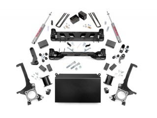 "Toyota Tundra 4WD (2016-2018) 4"" Lift Kit Suspension Rough Country"