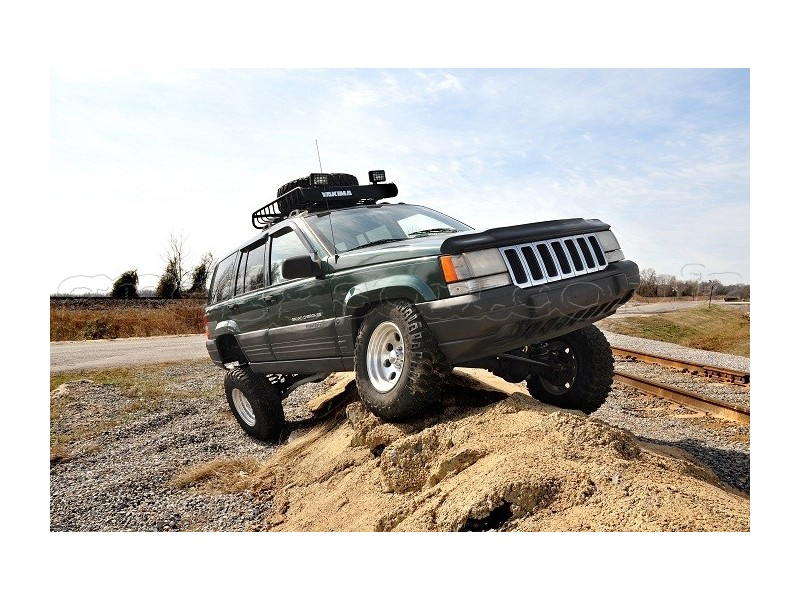 jeep grand cherokee zj 4 long arm upgrade lift kit rough country. Black Bedroom Furniture Sets. Home Design Ideas