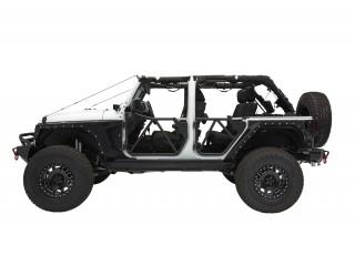 Jeep Wrangler JK 4D Tubular Front Door SRC GEN2 Smittybilt