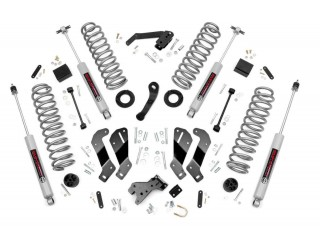 "Jeep Wrangler JK LHD (4D) 3.5"" Lift Kit Suspension  With Control Arm Drop Rough Country"