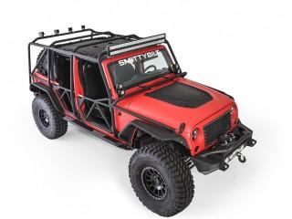 Jeep Wrangler JK 4D (2007-2017) Roll Cage Kit XRC EXOSKELETON Smittybilt