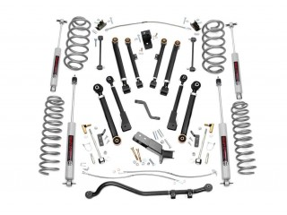 "Jeep Wrangler TJ 4"" Lift Kit Suspension X-Series Rough Country"
