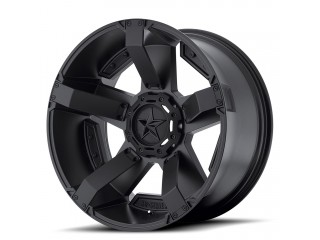 "20"" x 9 ET30 5x114, 3/5x127 Alloy Wheel Black KMC XD SERIES ROCKSTAR II Model 811"