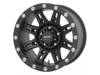"17"" x 9 ET -6 5x127 Alloy Wheel Black Model 7031 ProComp"