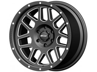 "17"" x 9 ET -6 5x127 Alloy Wheel Satin Black Model 5140 ProComp"