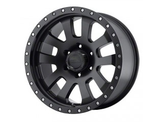 "17"" x 9 ET -6 5x127 Alloy Wheel Flat Black Model 7036 ProComp"
