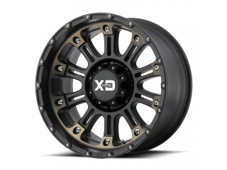 "17"" x 9  5x127 ET18 Alloy Wheel XD 829 HOSS II Black / Bronze"