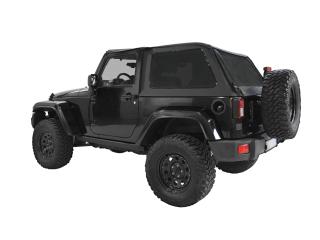 Jeep Wrangler JK 2D Bowless Soft Top Kit