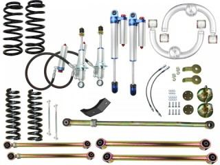 "Nissan Navara NP300 (2015-2018) 4"" Suspension Lift Kit Superior Engineering"