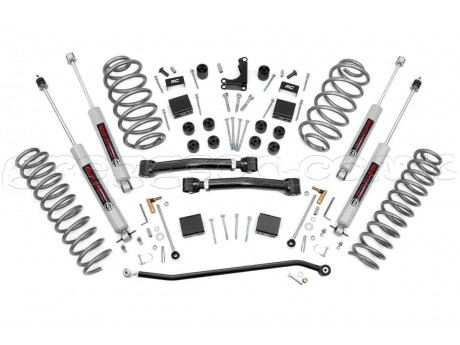"Jeep Grand Cherokee WJ WG 4"" Lift Kit Pro Suspension Rough Country"