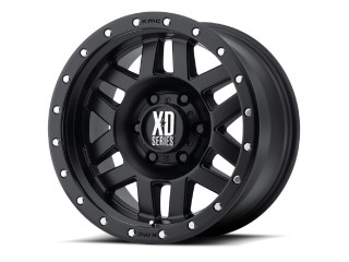 "17"" x 8,5 ET0 5x127 Alloy Wheel Black Model 128 XD Series"