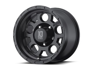 "18"" x 9 ET 0 5x127 Alloy Wheel Black Model 122 XD Series"